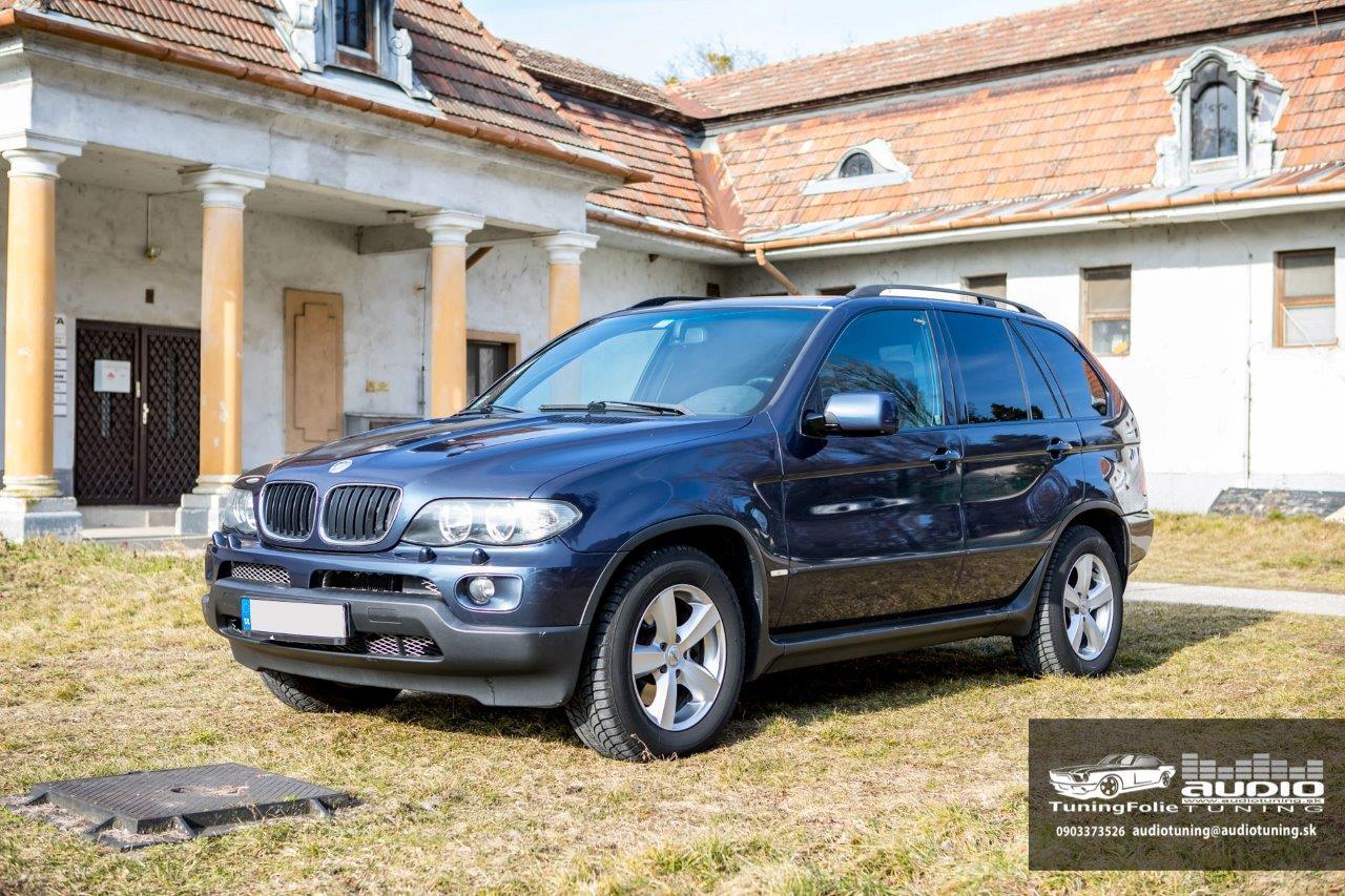 AUTOFOLIE PREMIUM SUNTEK HP05 BMW X5-3914
