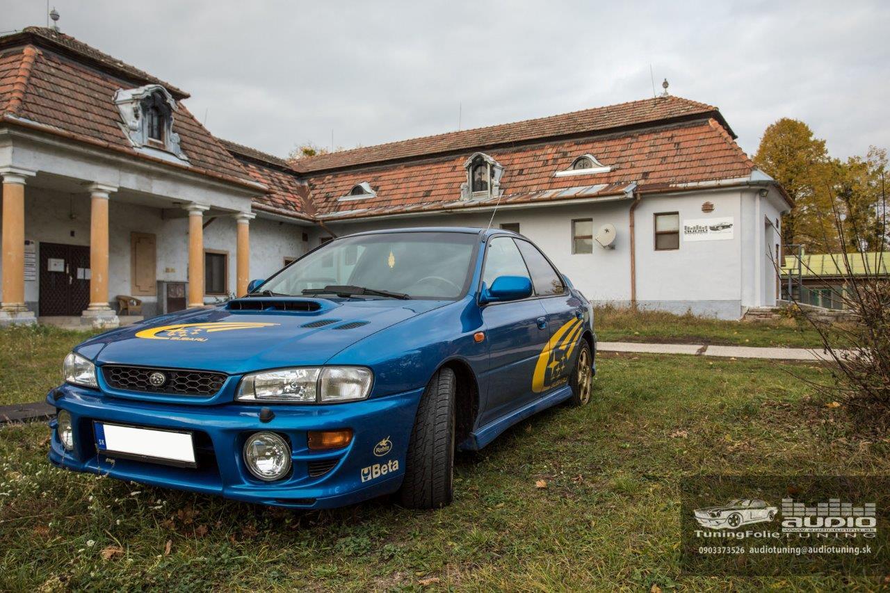 AUTOFOLIE DEMONTAZ MONTAZ PREMIUM SUNTEK HP 05 SUBARU IMPREZA-0601
