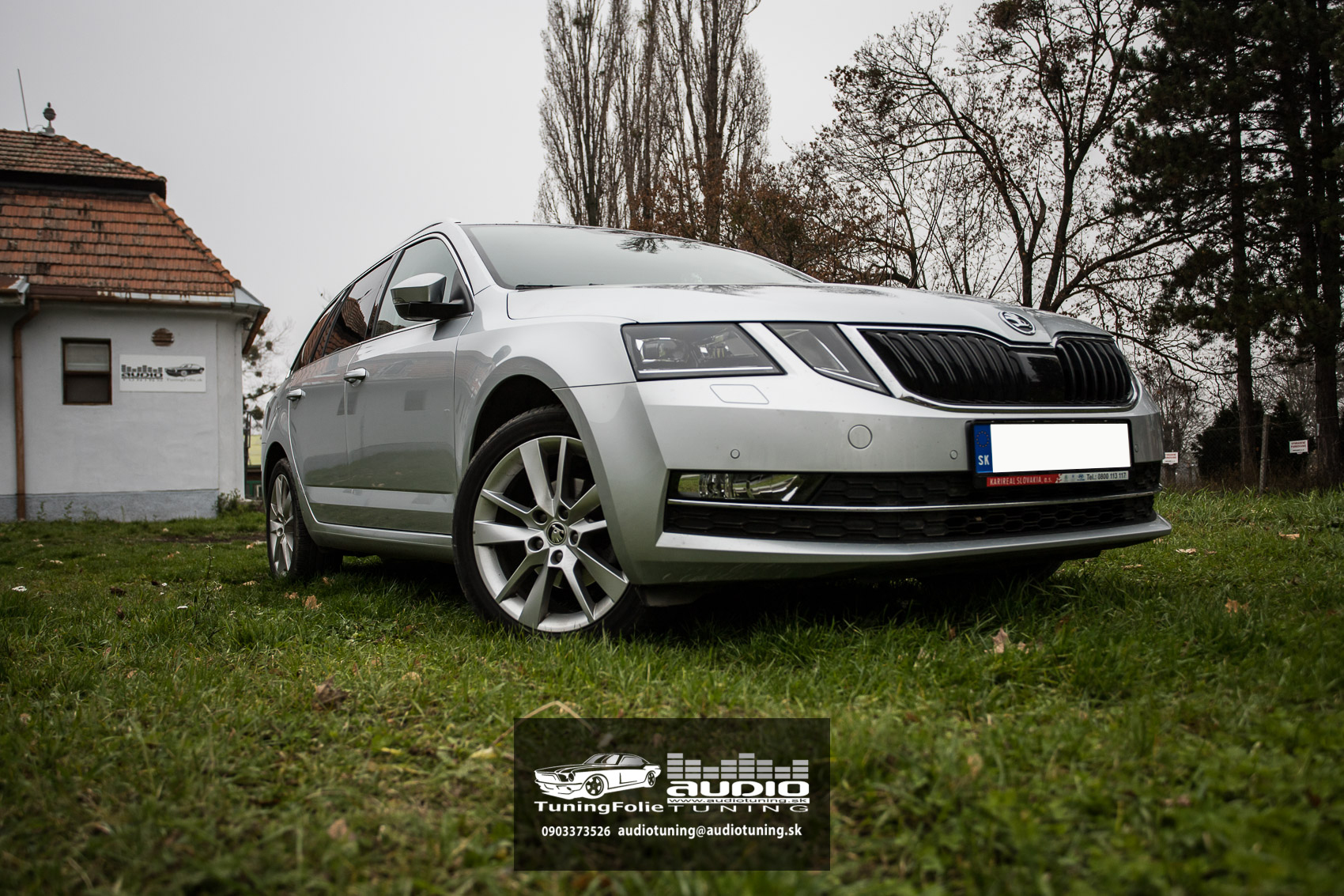 SKODA OCTAVIA SunTek Autofolie Premium-3619